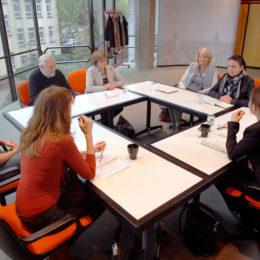 Sitzung des AK Patenschaften. Foto: Stefan Braunsmann