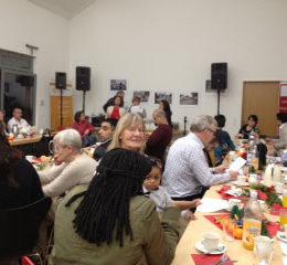 Weihnachtsfeier des Fördervereins. Foto: Cristina Loi