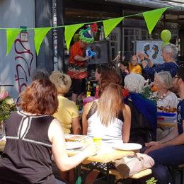 Nachbarschaftsfest des Ambulante Versorgungsbrücken e.V. Foto: Frank Fenken