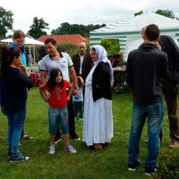 Begegnungsfest im Garten Windrose am 21. August 2016 Bersenbrück. Foto: Liesel Hoevermann / Samtgemeinde Bersenbrück