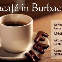 Flyer Sprachcafé Burbach