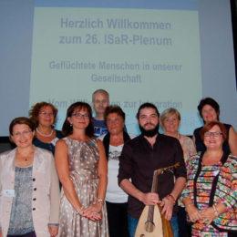 Mitwirkende der Fachtagung zum Thema Geflüchtete. Foto: Claudia Berschbach / Pressestelle des Kreises DürenDüren